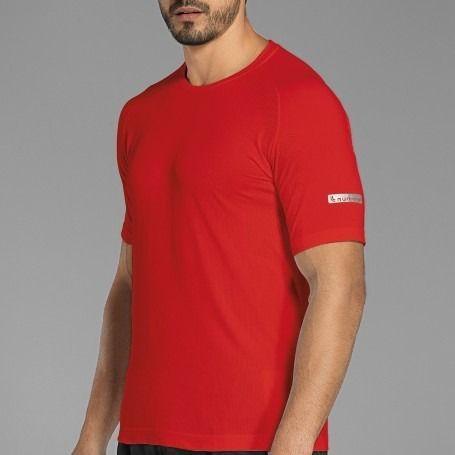 T shirt corrida half marathon detalhe refletivo s/costura