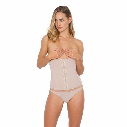 Cinta corset de alta compressão estético Plie com barbatanas