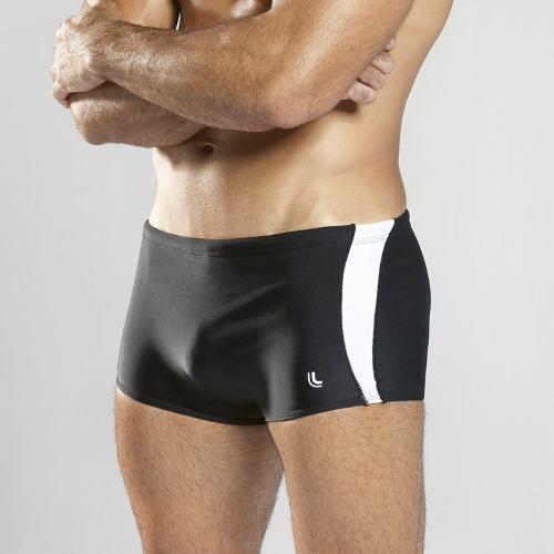 Sunga boxer adulto listrada piscina natação pajuçara lupo