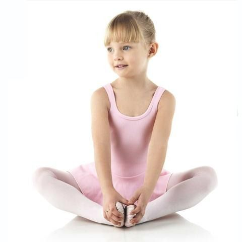 Meia calça criança ballet fio 40 rosa lobinha lupo