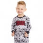 Pijama bebê menino algodão disney mickey mouse