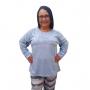 Pijama feminino plus size algodão coelho rosa família
