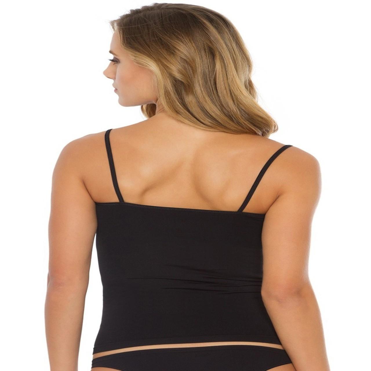 Blusa alcinha segunda pele s/costura não marca na roupa