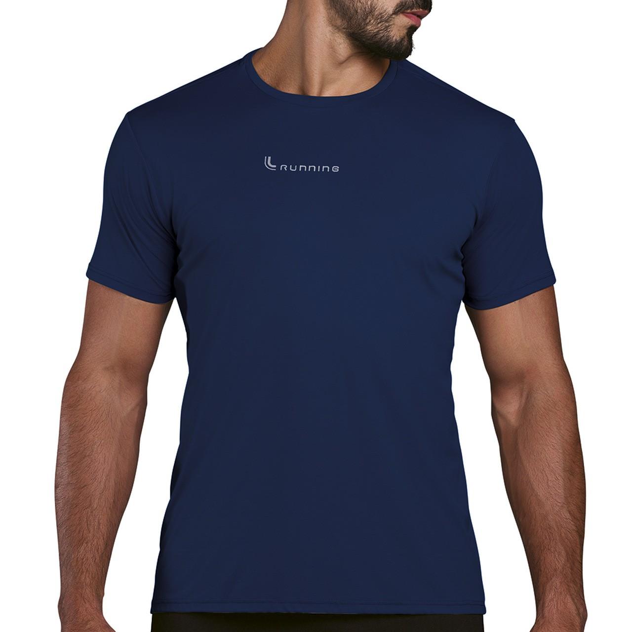 Camiseta basica maculina plus size caminhada academia lupo
