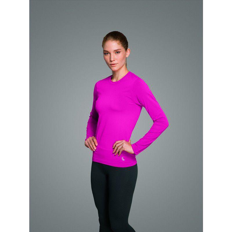 Camiseta lupo feminina sport advanced proteção uv 50