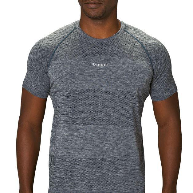 Camiseta masculina academia run free corrida fitnes lupo