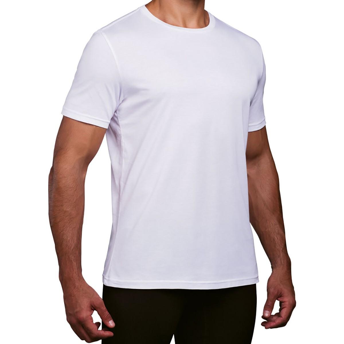 Camiseta sport básica masculino algodão pima academia Lupo