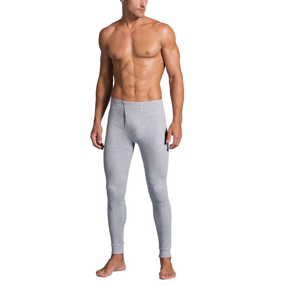 Ceroula meia calça masculina adulto canelada algodão lupo