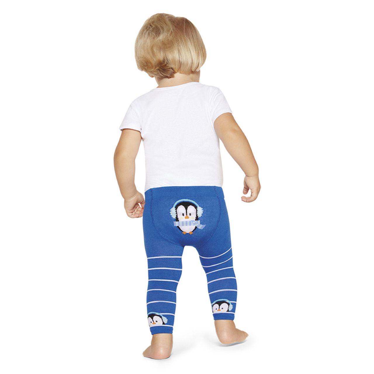 Cueca meia calça legging ceroula bebe dj pinguim lobinho