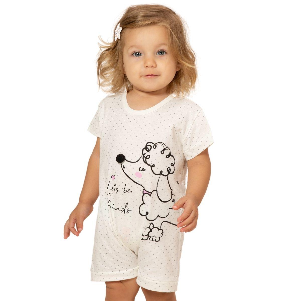 Macacão algodão bebê pijama menino 1 a 3 anos menina verão