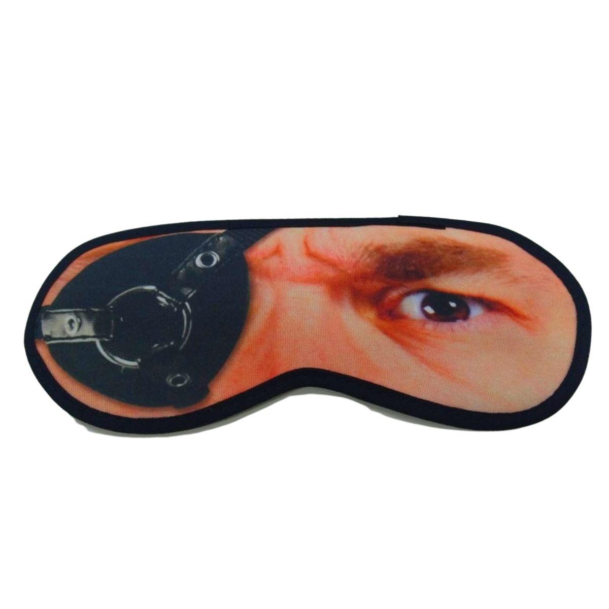 Mascara para dormir divertida homem pirata evita olheiras