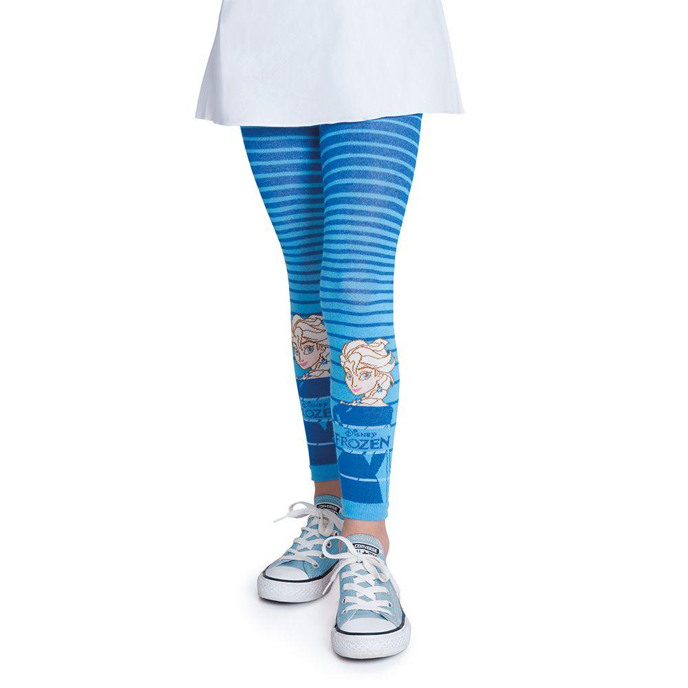 Meia calça legging menina infantil frozen elza lobinha lupo