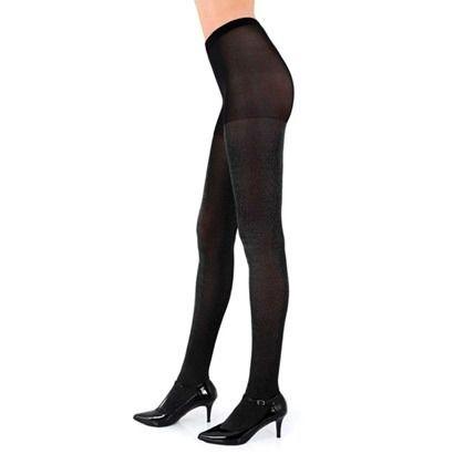 Meia calça lurex brilho fio 40 com demarcação calça lupo