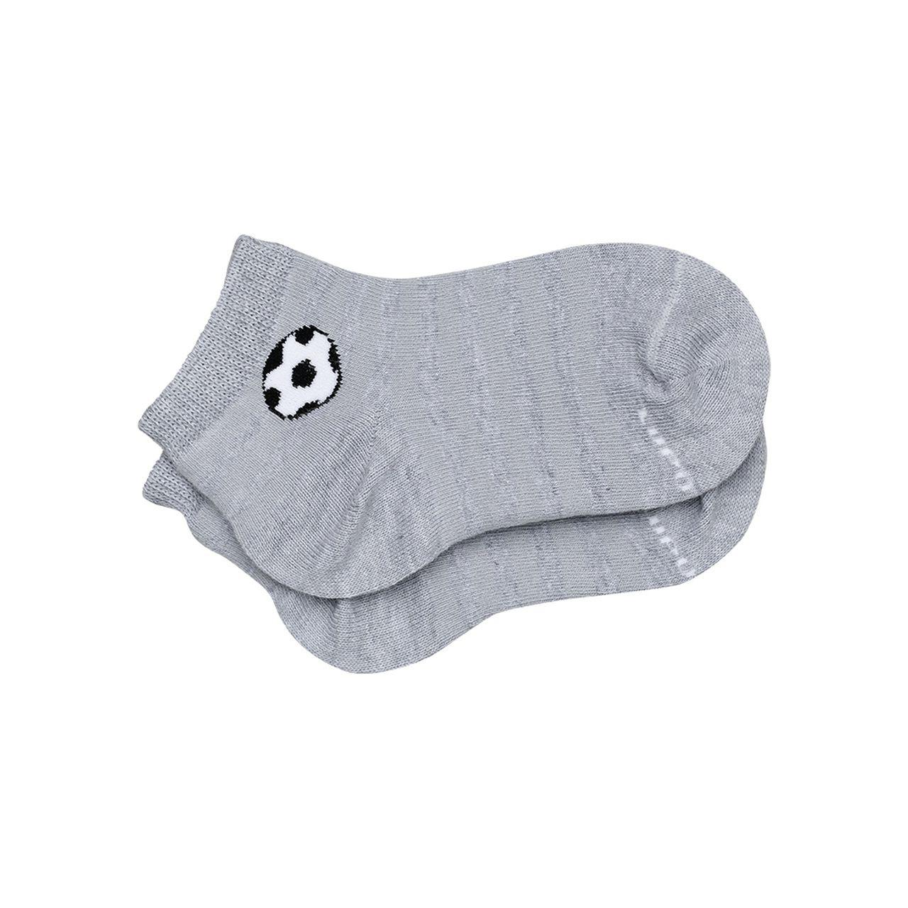 Meia infantil menino listrada cano médio bola futebol