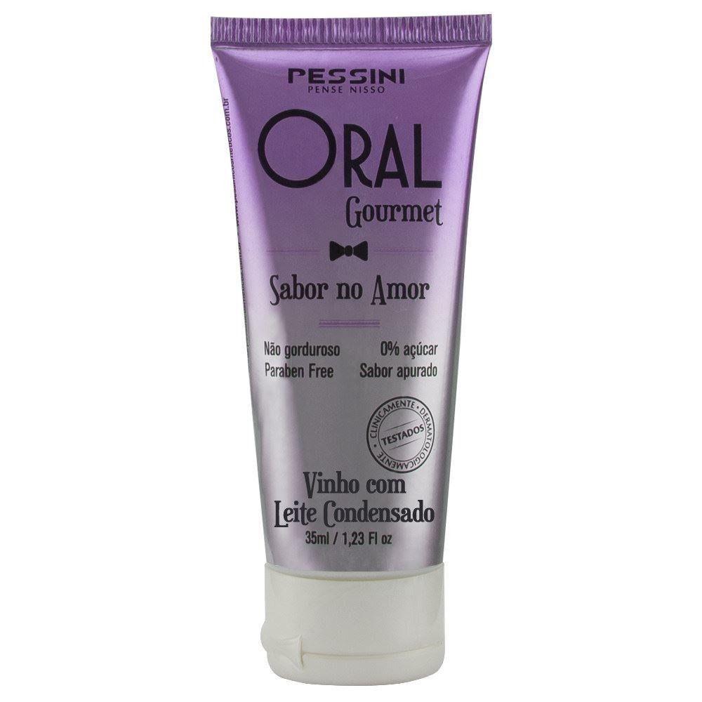 Oral gourmet óleo massagem sabor 0% açúcar base água 35ml