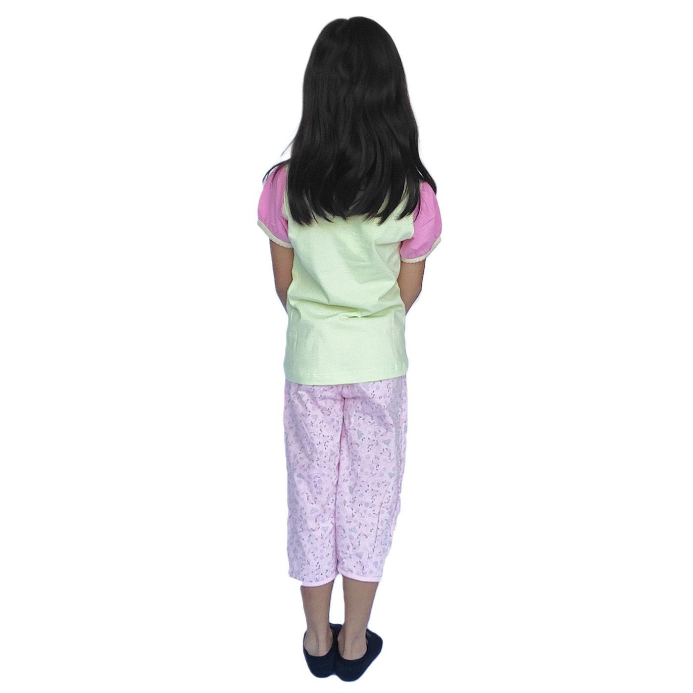 Pijama infantil algodão princesas disney castelo lupo kids