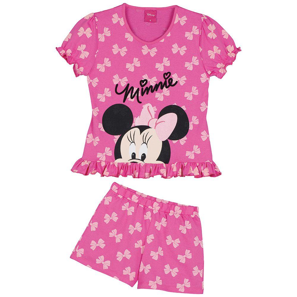 Pijama infantil minnie disney babadinho lacinho lupo kids