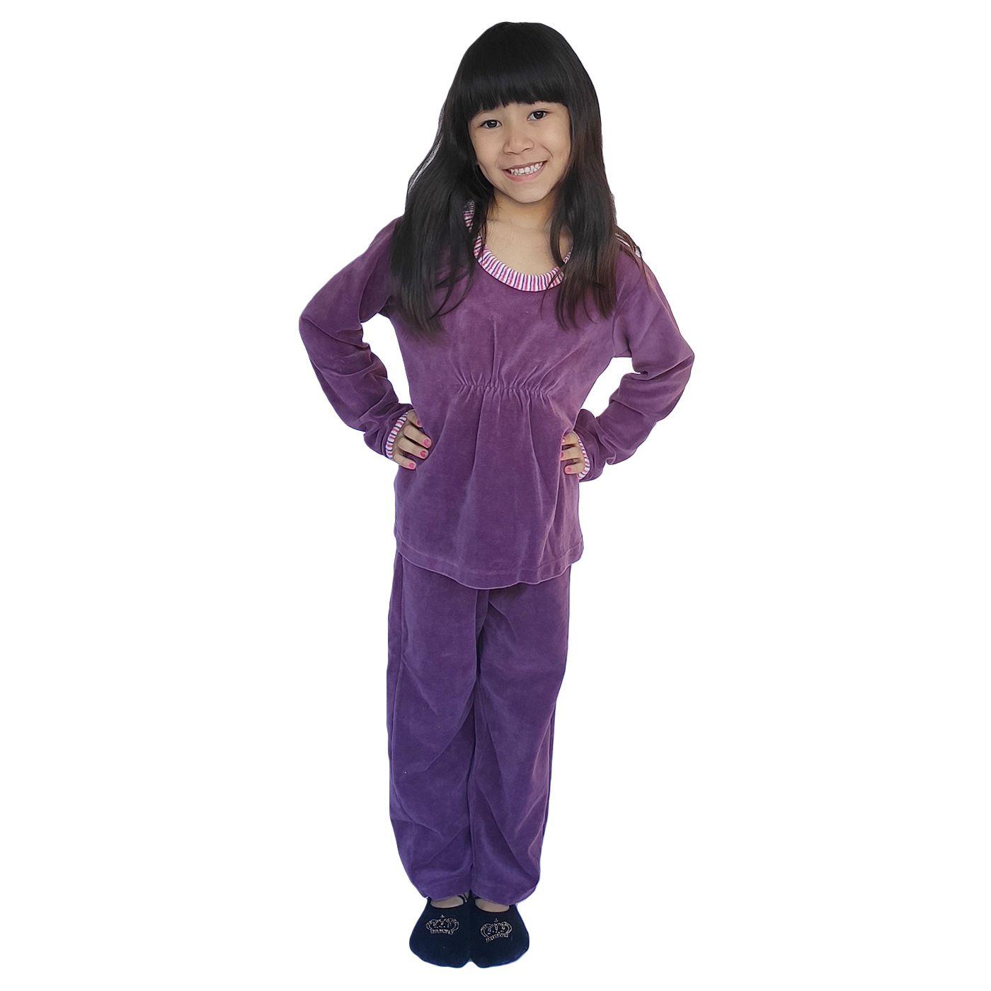 Pijama infantil menina plush quentinho
