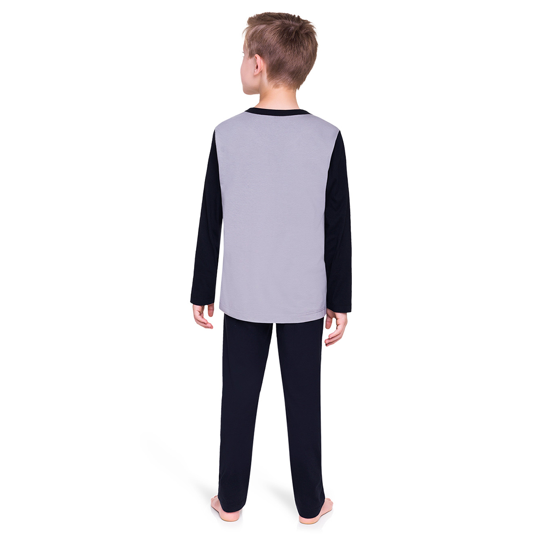 Pijama infantil menino inverno batman mascara de brinde veggi