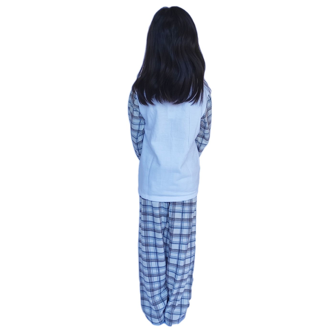 Pijama moleton infantil flanelado unissex ursinho