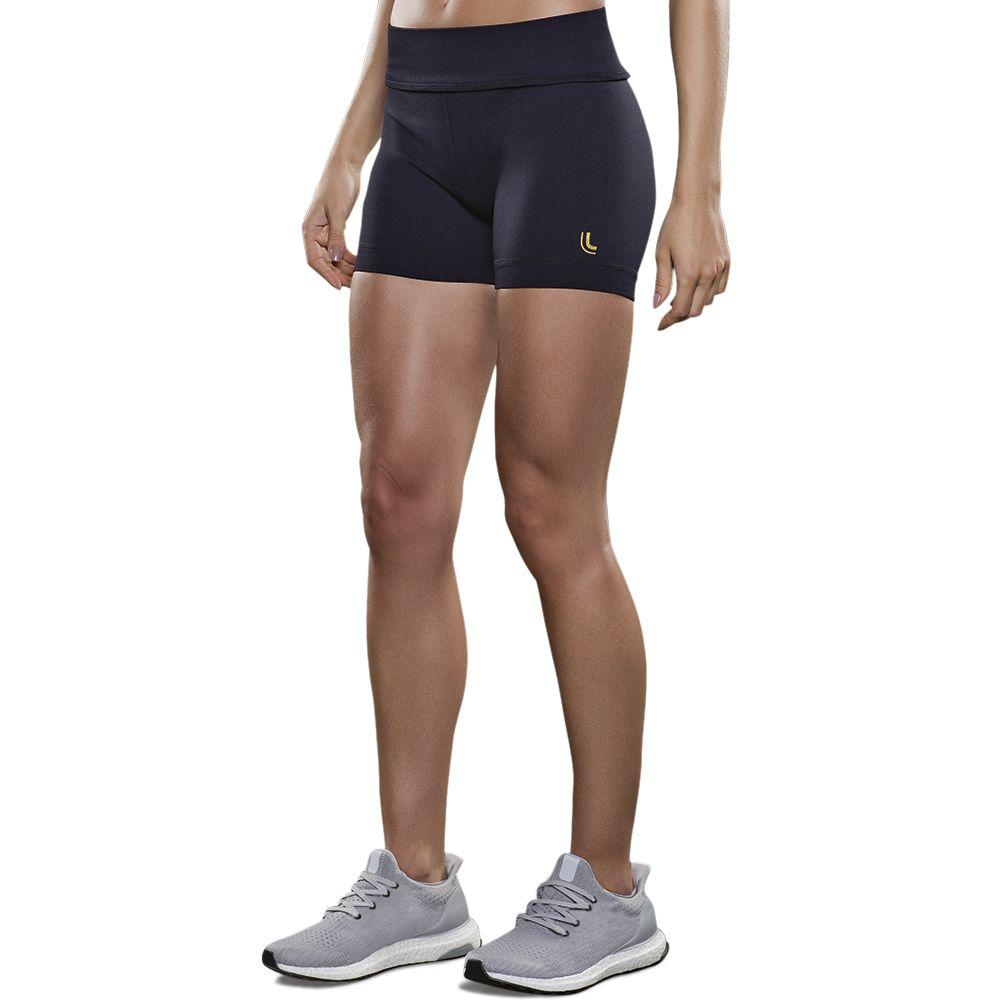 Short curto fitnes cintura alta levanta bumbum academia lupo