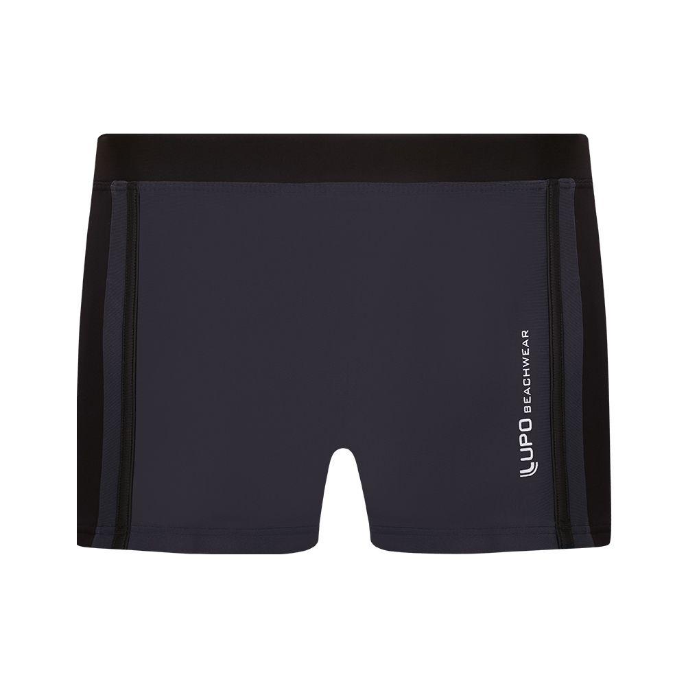 Sunga boxer recorte lateral detalhe frente lupo beachwear