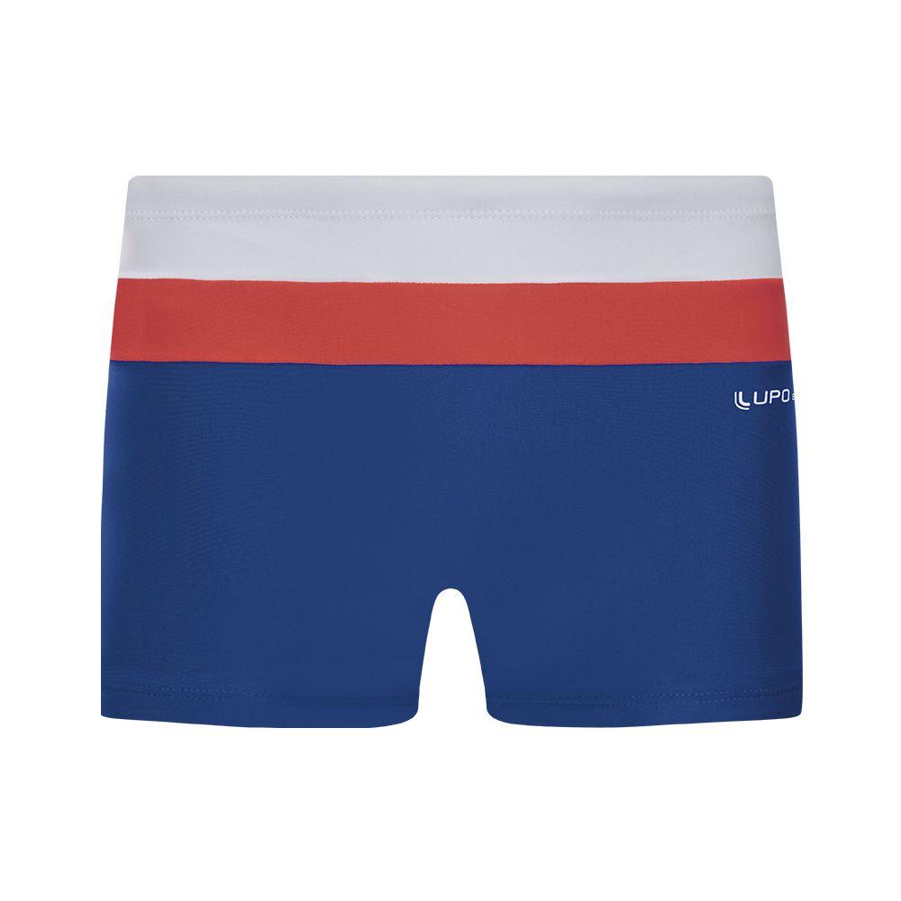 Sunga boxer recorte praia lupo beachwear