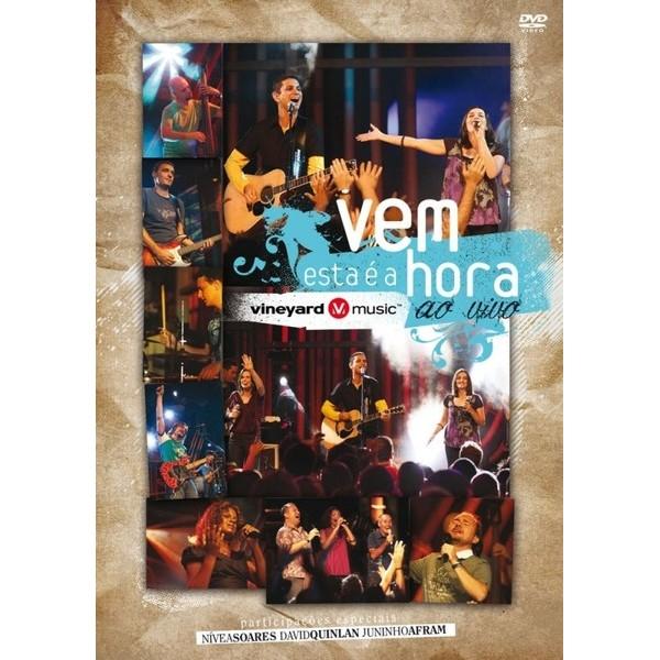 DVD - Vineyard - Vem esta é a hora - ao vivo