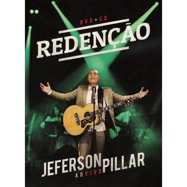 DVD+CD - Jeferson Pillar - Redenção - Ao Vivo