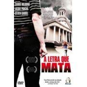 DVD - A letra que mata - Filme