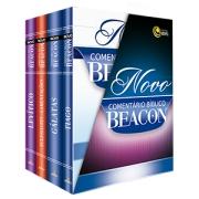 Livro - Novo comentario de beacon central gospel box Tiago,Galatas,Eclesiastes/lamentaçoes,Levitico