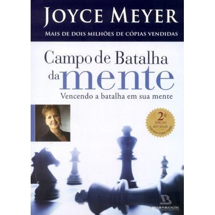 Livro - Joyce Meyer - Campo de Batalha da Mente