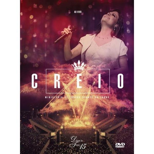 DVD - Diante do Trono - Creio