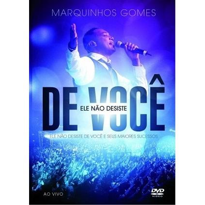 DVD - Marquinhos Gomes - Ele não desiste de você
