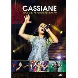 DVD - Cassiane - Um Espetáculo de Adoração