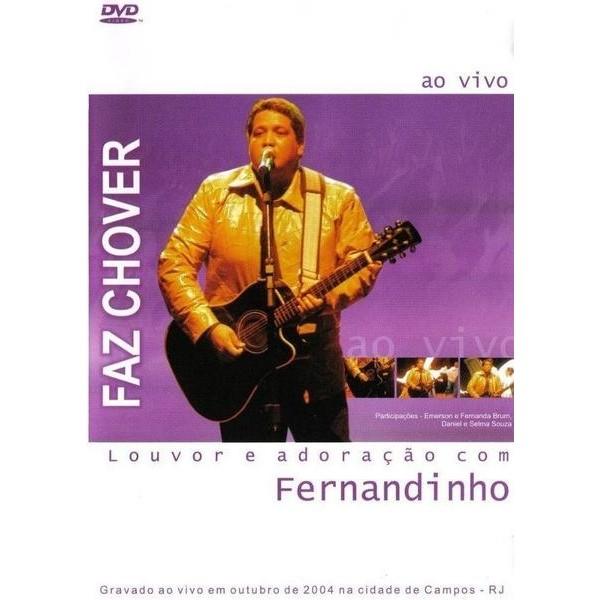 DVD - Fernandinho - Faz Chover - Louvor e adoração com Fernandinho - Ao vivo