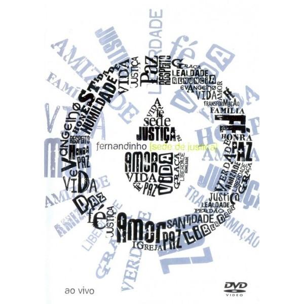 DVD - Fernandinho - Sede de justiça