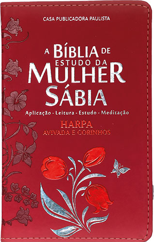 A Bíblia de Estudo da Mulher Sábia - Tulipas