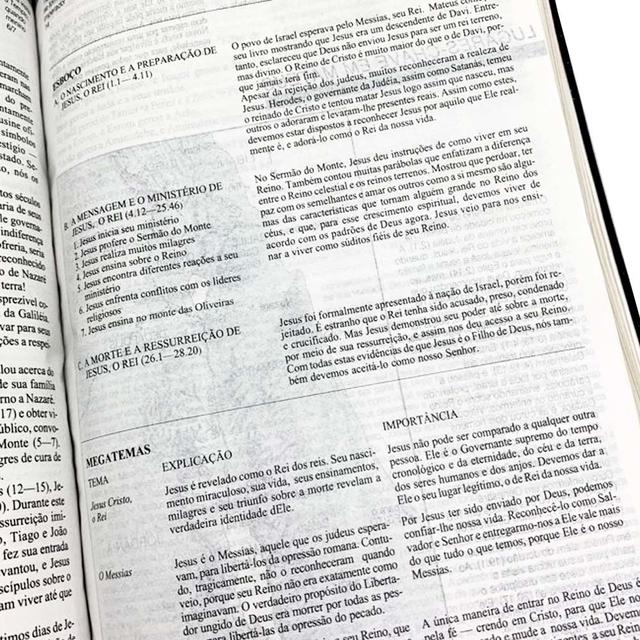 Bíblia De Estudo Aplicação Pessoal - Média