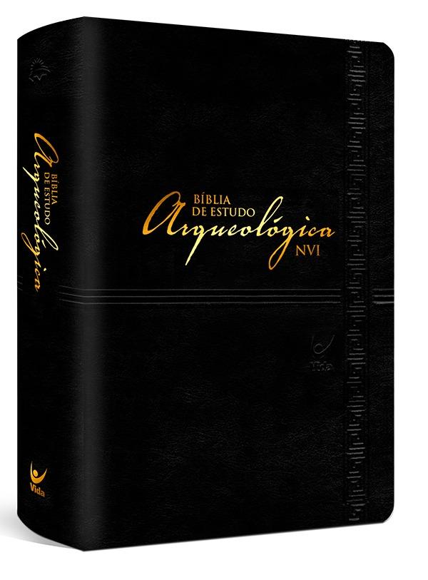 Bíblia de Estudo Arqueológica - Preta Luxo