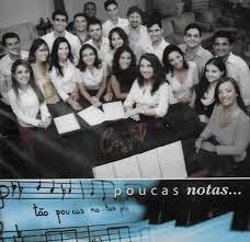 CD - Duplo - Grupo Cristal - Poucas Notas