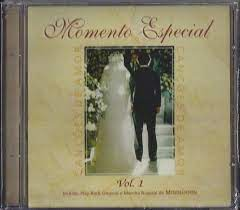 CD - Momento Especial volume 1- Canções de amor