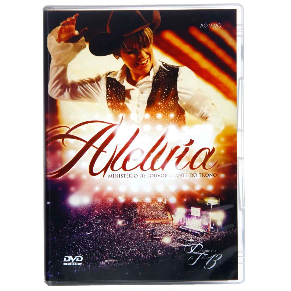 DVD - Diante trono - Aleluia