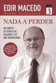 Livro - Nada a Perder  3 - Edir Macedo