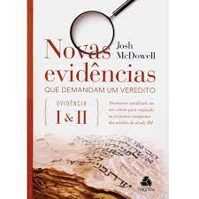 Livro - Novas evidencias que demandam um veredito - Josh McDowell