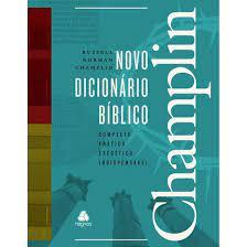 Livro - Novo Dicionario biblico Champlin