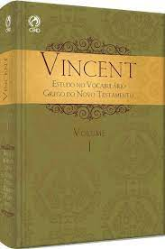 Livro - Vincent volume 1