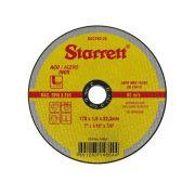 Disco Corte de 7 Pol. para Aço Inox - STARRETT
