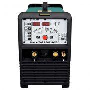 Máquina De Solda Tig Ac/dc Maxxi 200p 220v Balmer