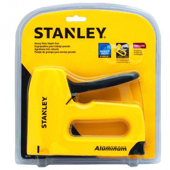 Grampeador Sharpshooter Corpo Em Alumínio - Stanley-tr150